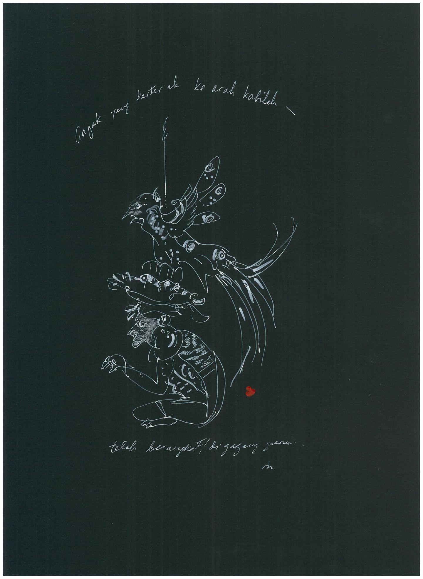 Burung dan Dukun (Grotesque Utama)